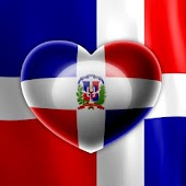 Love Dominican Flag