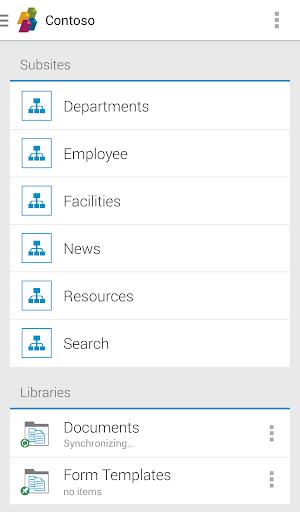 SharePlus - SharePoint モバイル