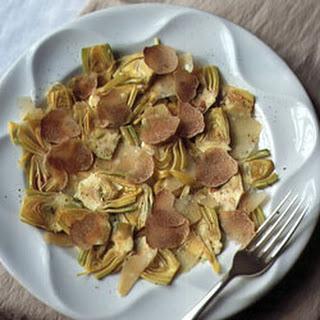 Truffle and Artichoke Salad.