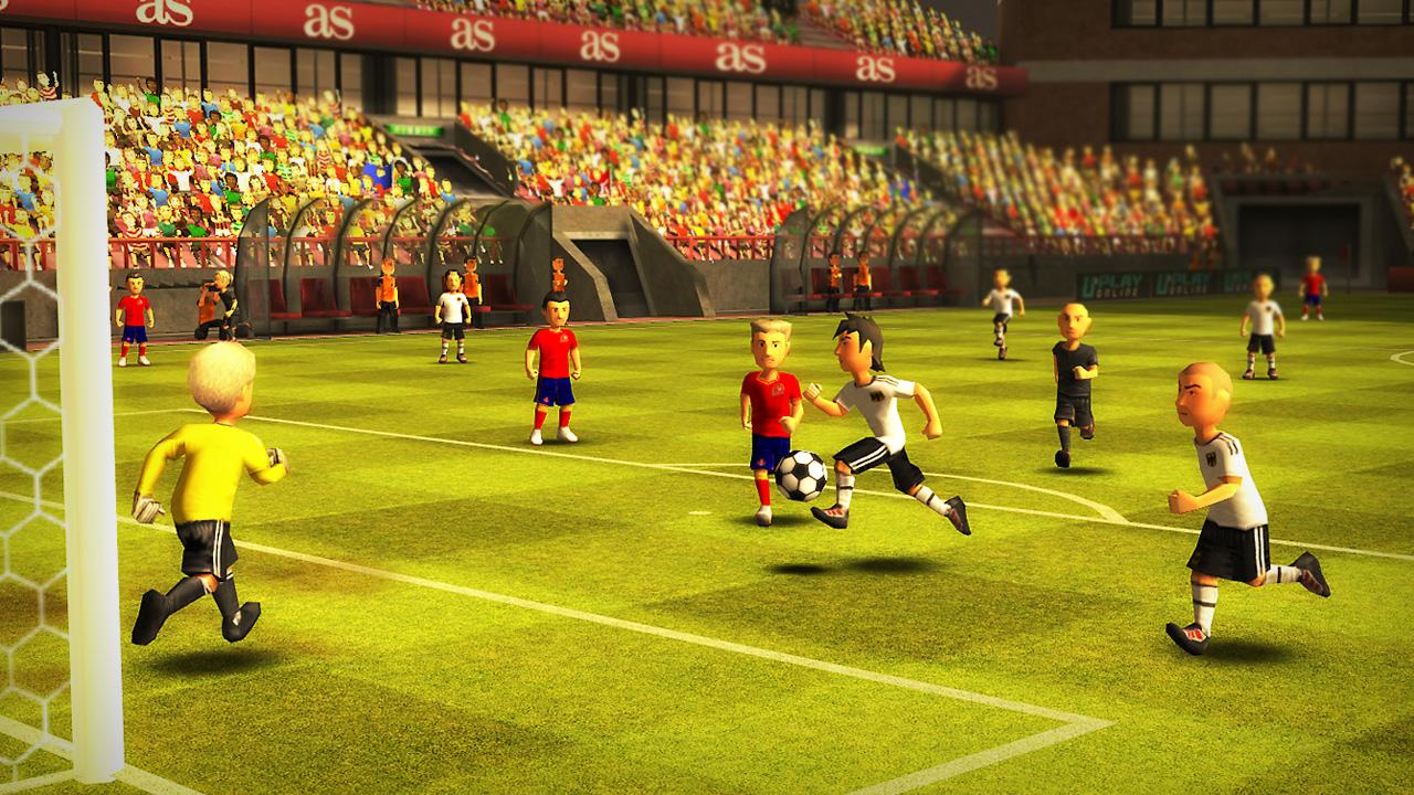 Striker Soccer Euro 2012 - screenshot