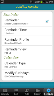Birthday Calendar 商業 App-癮科技App