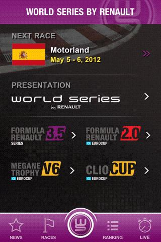 World Series by Renault - screenshot