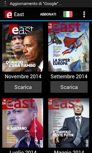 East Global Geopolitics