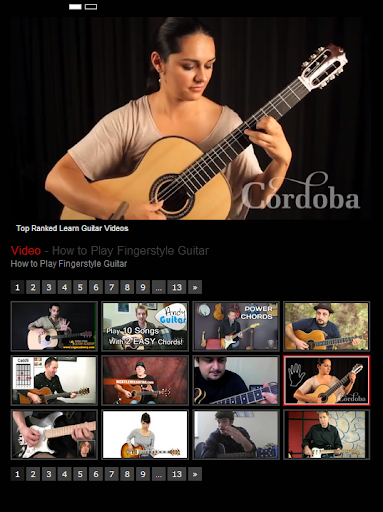 Top Ranked Learn Guitar Videos