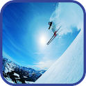 Skiing Wallpaper icon