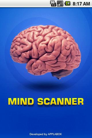 Mind Scanner - screenshot