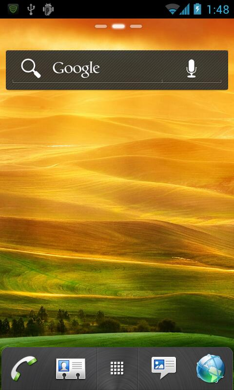 HTC Sense GO Launcher EX Theme - screenshot