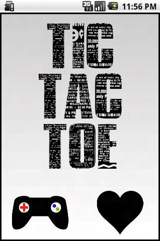 Tic Tac Toe Bluetooth- screenshot