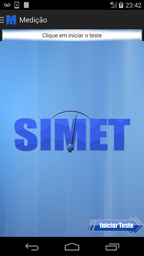 SIMET Mobile - screenshot