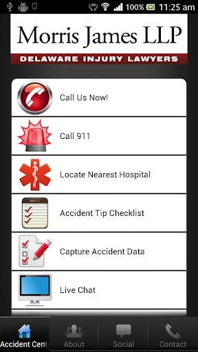Morris James Injury App