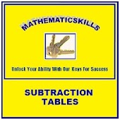 Subtraction Tables Free