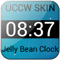 Jelly Bean Clock Widget UCCW icon