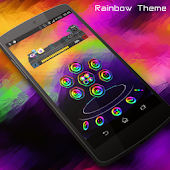 Rainbow Next Launcher 3D Theme