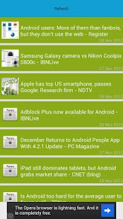 Updates for Android (info)- screenshot thumbnail