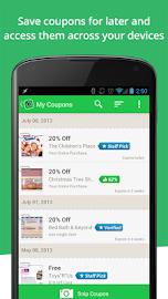 SnipSnap Coupon App Screenshot 4