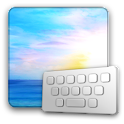 ClearkeySunrise keyboard skin logo