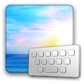 ClearkeySunrise keyboard skin