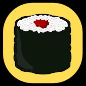 Sushi Cute Clock