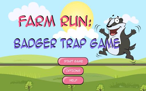 Farm Run: Badger Trap Game