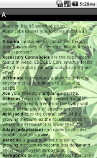 Marijuana Dictionary - screenshot thumbnail