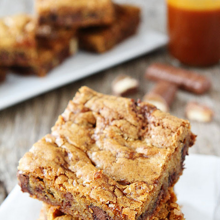 Twix Caramel Cookie Bars Recipe