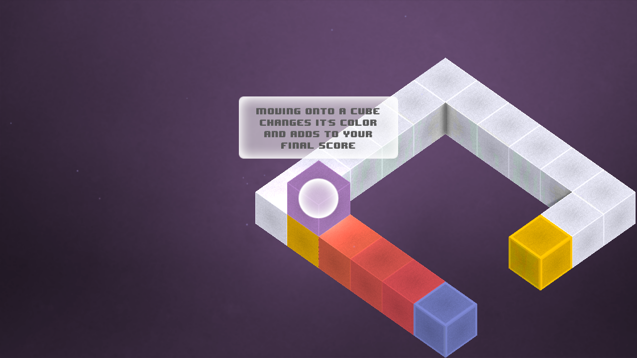Box-E - The Colorful Cube Game - screenshot