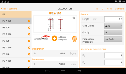 EC3 Steel Member Calculator screenshot 14