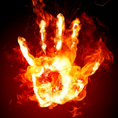 Fire Touch 3D Live Wallpaper
