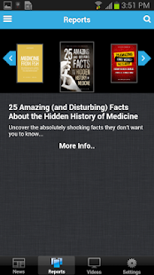 Natural News Mobile - screenshot thumbnail