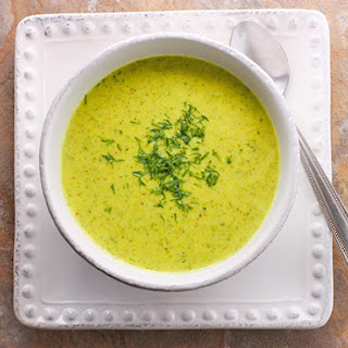 Broccoli Cauliflower Glow Soup