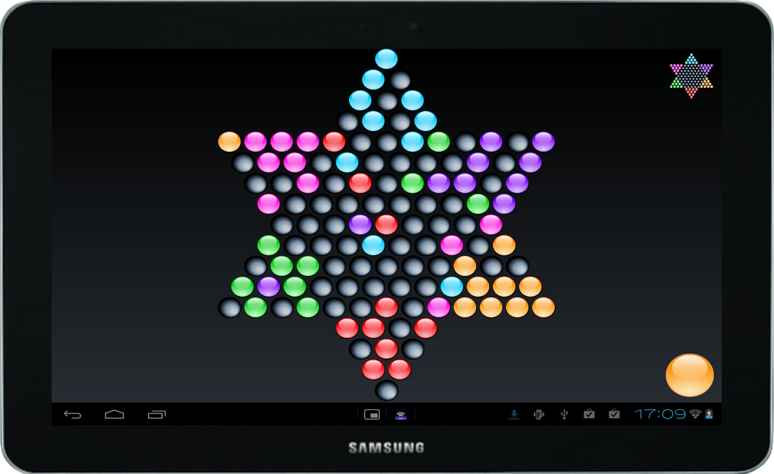 Chinese Checkers - HD/Tablet- screenshot