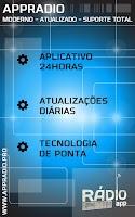 Screenshot of Rádio Luandê 96.1 FM