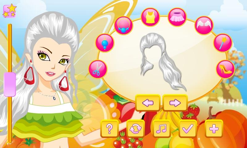 Harvest Fairy Dress Up - screenshot