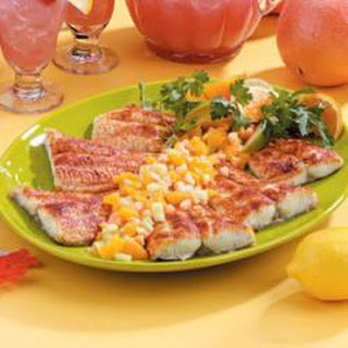Cajun Catfish With Fruit Salsa