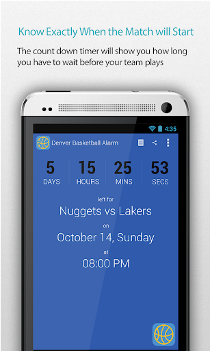 Denver Basketball Alarm