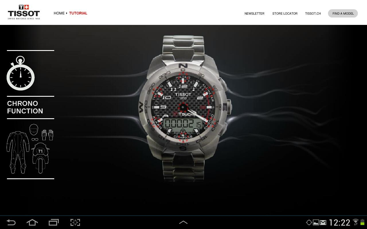 Tissot Touch- screenshot