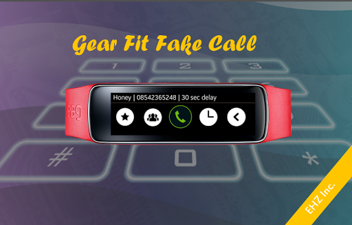 Gear Fit Fake Call