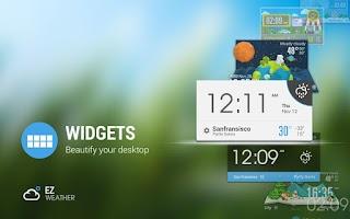Screenshot of Lollipop Card UI Style Widget