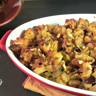 Bacon Pear Stuffing