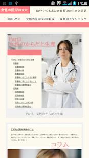 女性の医学BOOK