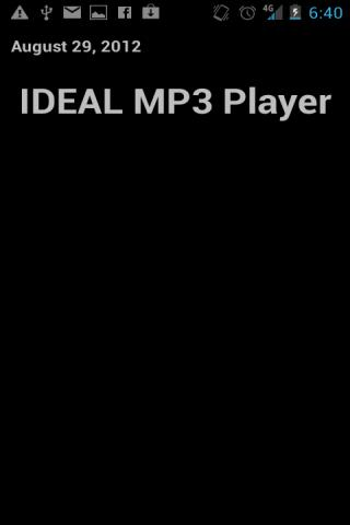 IDEAL MP3 & Audio eBook Player - screenshot