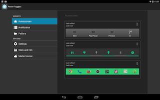 Screenshot of Power Toggles