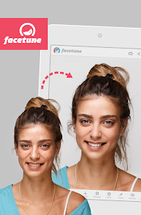 Facetune- screenshot thumbnail