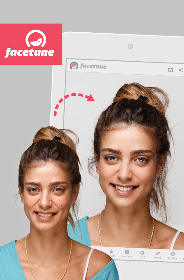 Facetune- screenshot