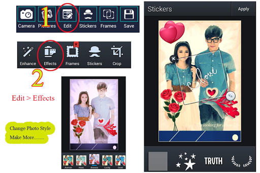免費下載攝影APP|Collage Valentine Roses Hearts app開箱文|APP開箱王