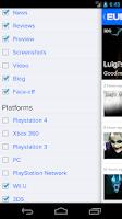 Screenshot of Eurogamer (unofficial)