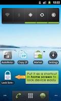 Screenshot of Lock Screen App - Donation