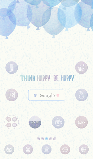think happy be happy dodol