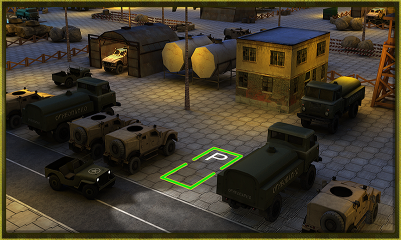 Army Truck Simulator 3D - screenshot