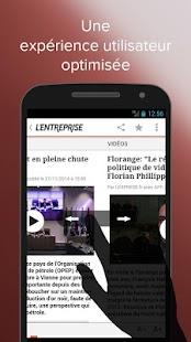 L'Entreprise: info des TPE/PME - screenshot thumbnail